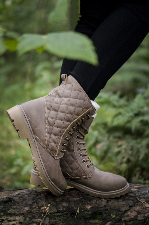 Boots - Sofia khaki vinter