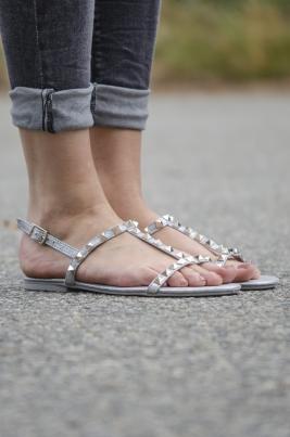 Sandaler - Ane grå