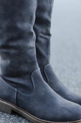 Støvletter - Irene grå