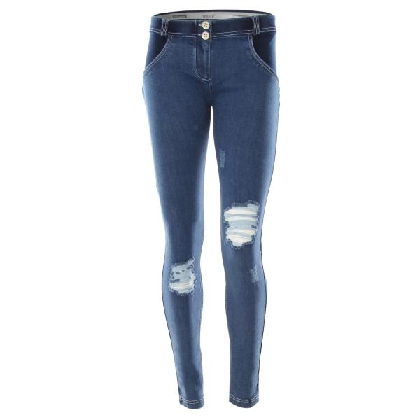 Jeans - Freddy WR.UP® Skinny Mid-Waist Denim Indigo Rinse (J0/W)