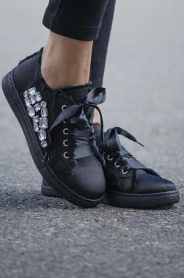 Sneakers - Regina Svart