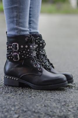 Boots - Kyra svart