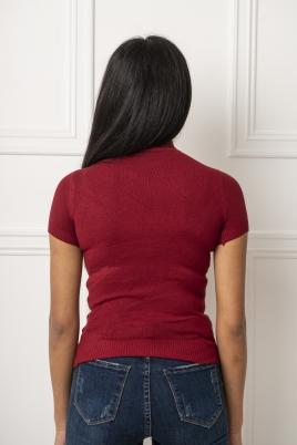T-skjorte - Siren vinrød