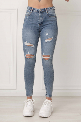 Jeans - Pie blå