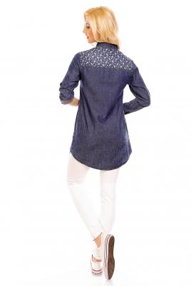 Skjorte - Issy mørkeblå