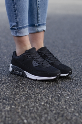 Sneakers - Melina Svart/hvit