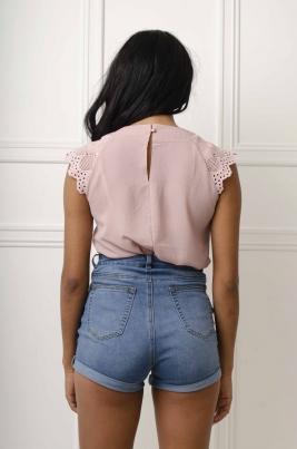 Skjorte - Mona lilla