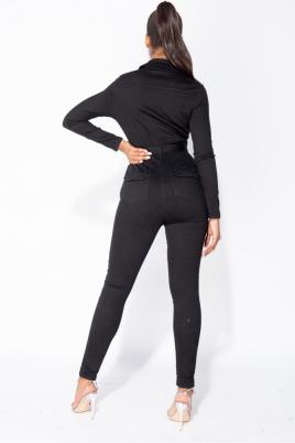Jumpsuit - Nanett svart