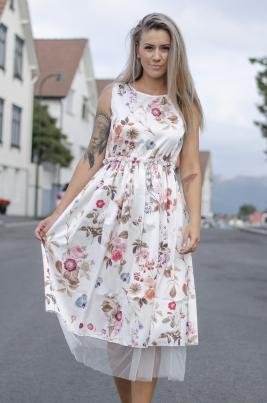Kjole - Evelina hvit