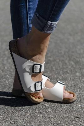Sandaler - Ivy hvit