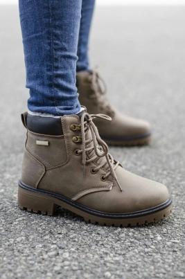 Boots - Amanda Khaki Vinter