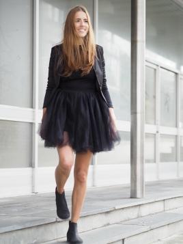 TuTu Skjørt - Celine svart short