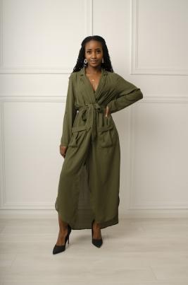 Kjole - Jenny grønn