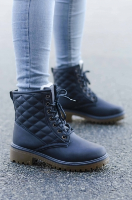 Boots - Sofia blå vinter