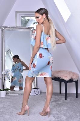 Kjole - Shaya blå