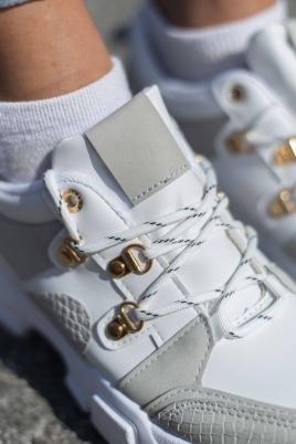 Sneakers - Monet hvit/grå
