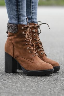 Boots - Elisabeth camel