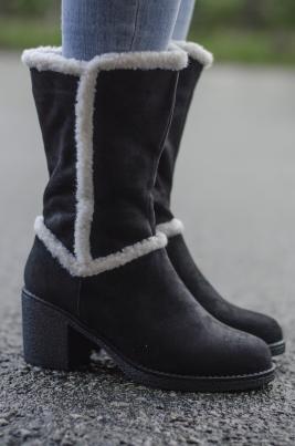 Støvletter - Pia svart