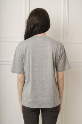 T-skjorte - Evelyn grå