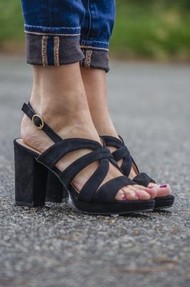 Sandaler - Aubrey svart