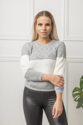 Genser - Camilla grå