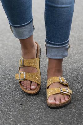 Sandaler - Dora gul