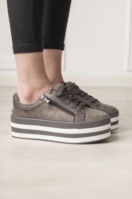 Sneakers - Eilis grå