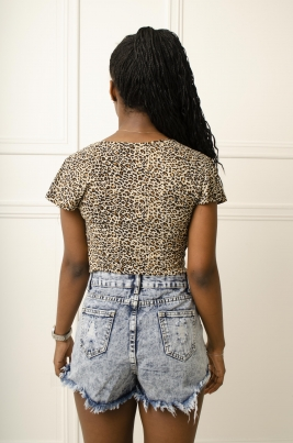 T-Skjorte - Tina brun