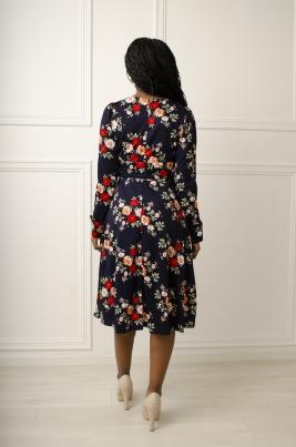 Kjole - Michelle mørkblå