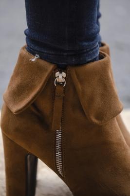 Boots - Karmen camel