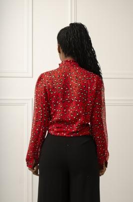 Skjorte - Scarlett rød
