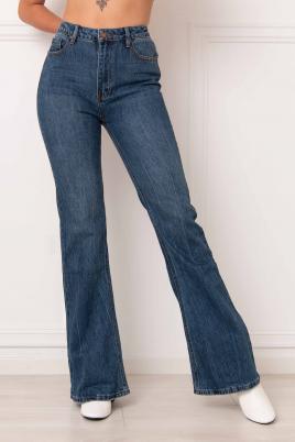 Jeans - Flare Vintage blå