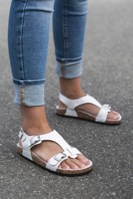 Sandaler - Laila hvit