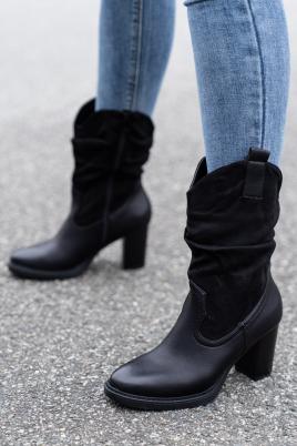 Støvletter - Mary svart