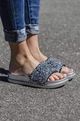 Sandaler - Stella sølv
