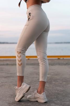 Hummel - HML ZIBA PANTS beige