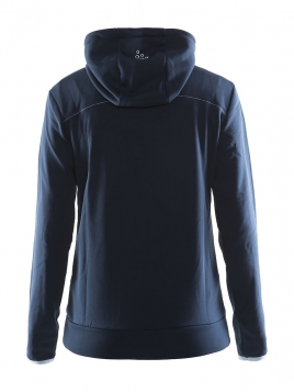 Craft - Leisure Full Zip Hood W mørkeblå