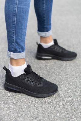 Sneakers - Lilja svart/svart
