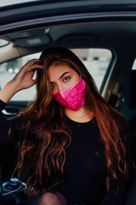 Maske - Rosa sateng