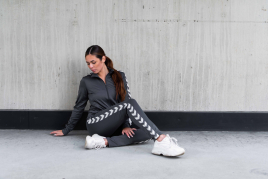 Hummel - HML NELLY zip jacket grå 2020