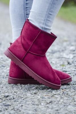 Boots - Karly burgunder
