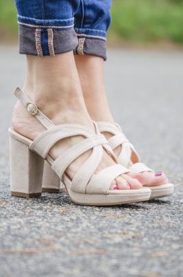 Sandaler - Aubrey beige