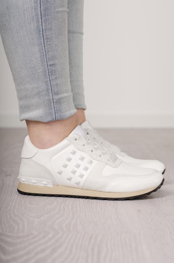 Sneakers - Emilia Hvit