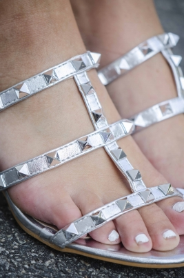 Sandaler - Rita sølv