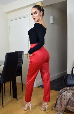 Bukser - Tatiana rød