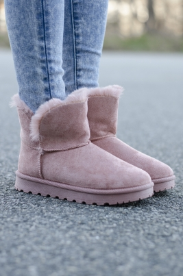 Boots - Lana rosa