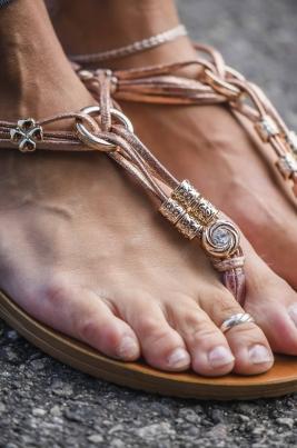 Sandaler - Sally Rosegull
