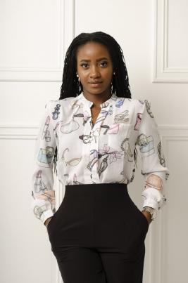 Skjorte - Zoey hvit