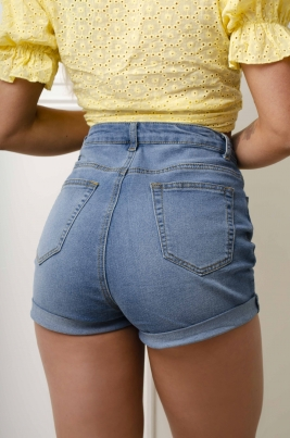 Shorts - Hazel blå