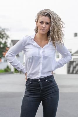 Skjorte - Samantha hvit